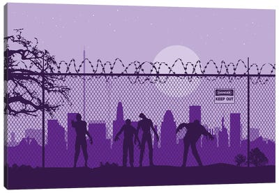 Baltimore Zombies Canvas Art Print