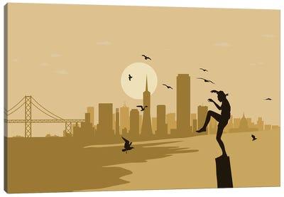San Francisco Karate Canvas Art Print