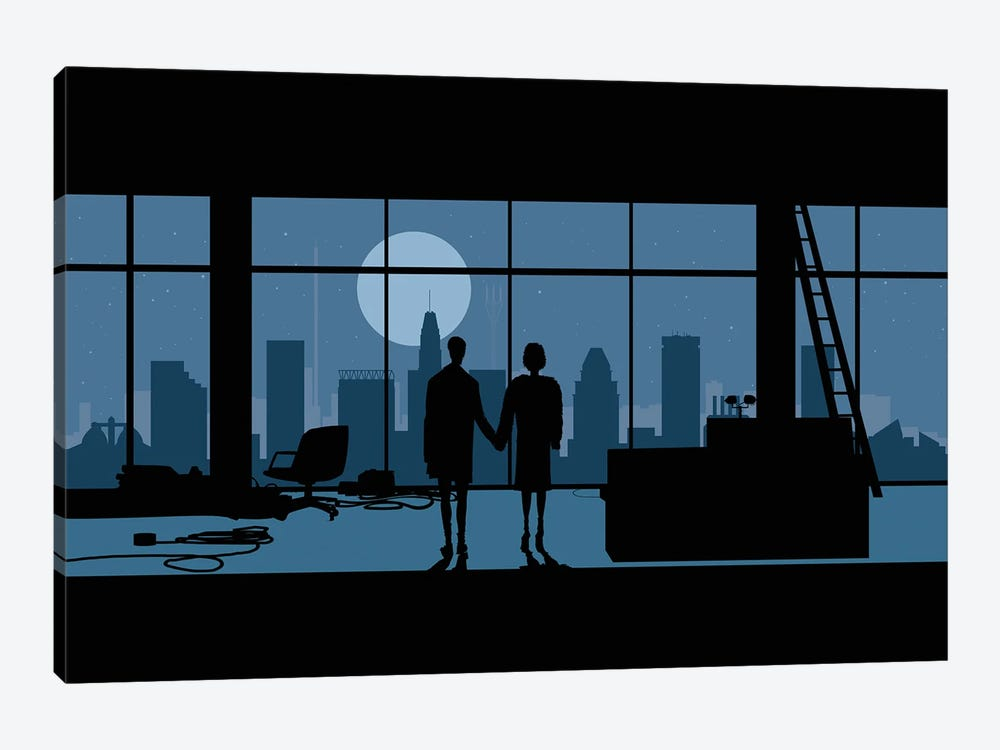 Baltimore's club by SKYWORLDPROJECT 1-piece Canvas Print