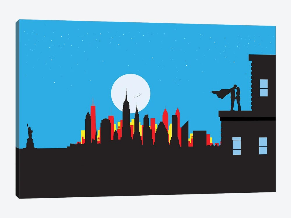 New York Real Hero by SKYWORLDPROJECT 1-piece Art Print