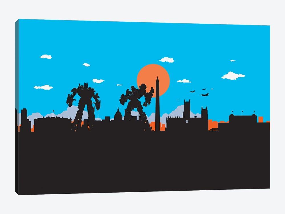 Washington Protectors by SKYWORLDPROJECT 1-piece Canvas Artwork