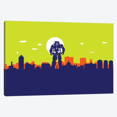 Victoria Robot Canvas Print #SKW130} by SKYWORLDPROJECT Canvas Art Print
