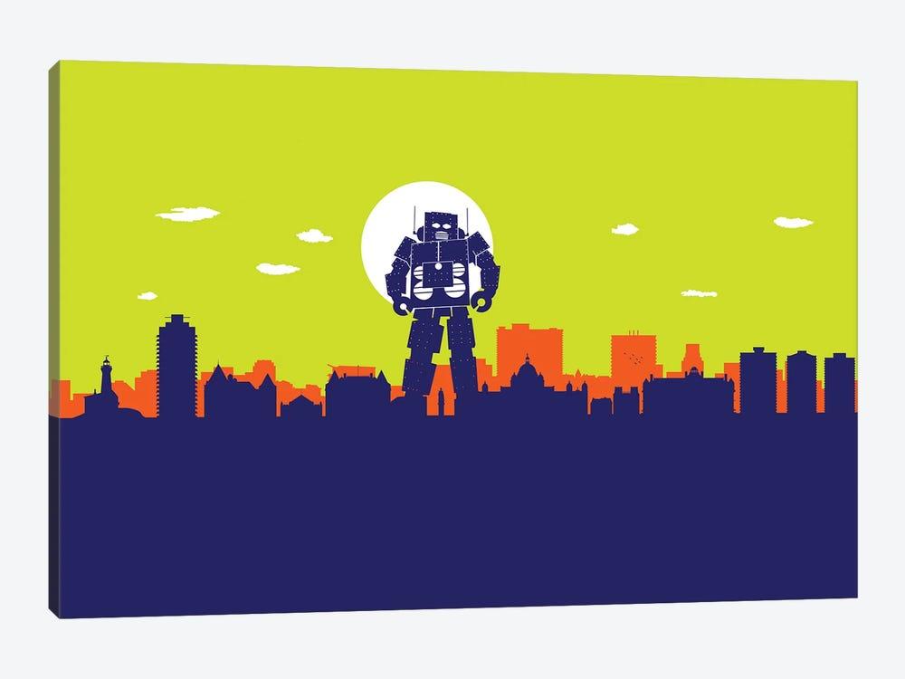 Victoria Robot by SKYWORLDPROJECT 1-piece Art Print