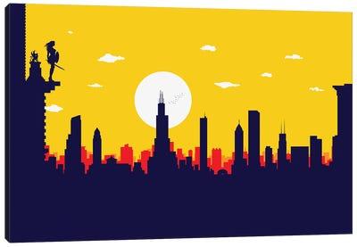 Chicago's Wonder Hero Canvas Art Print