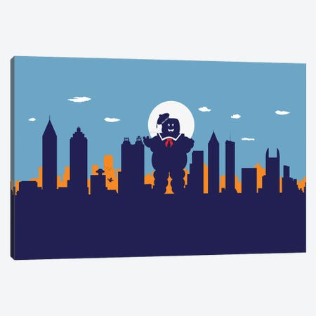 Atlanta's Sweet Ghost Canvas Print #SKW1} by SKYWORLDPROJECT Canvas Art Print