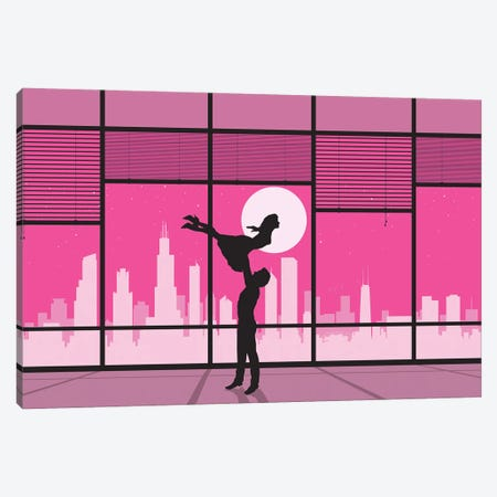 Chicago Dance Canvas Print #SKW21} by SKYWORLDPROJECT Canvas Print