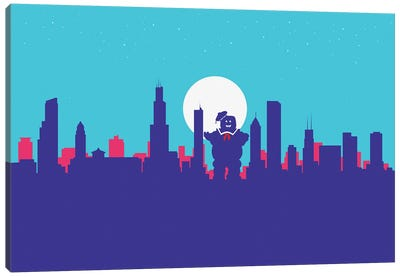 Chicago Sweet Ghost Canvas Art Print