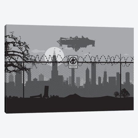 Chicago's #9 Canvas Print #SKW25} by SKYWORLDPROJECT Canvas Art