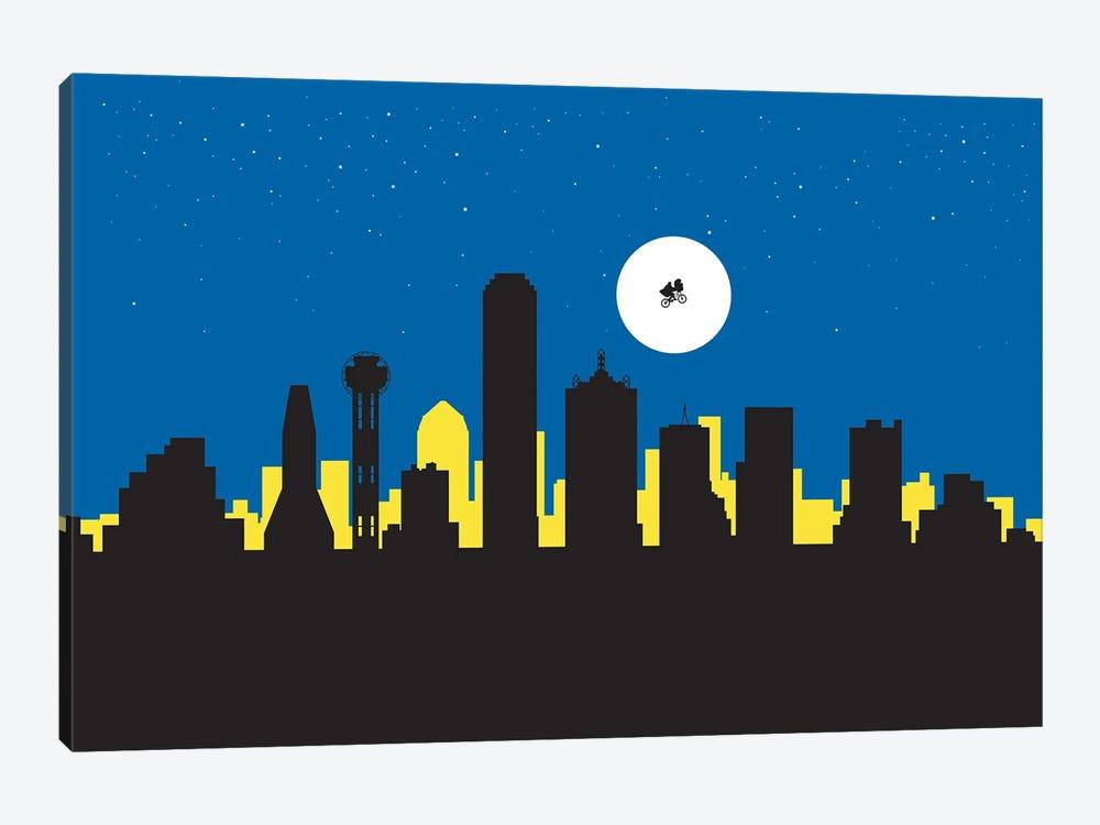 Dallas Night Ride by SKYWORLDPROJECT 1-piece Canvas Wall Art