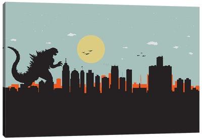 Detroit Monster Canvas Art Print