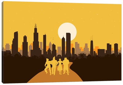 Chicago of Oz Canvas Art Print