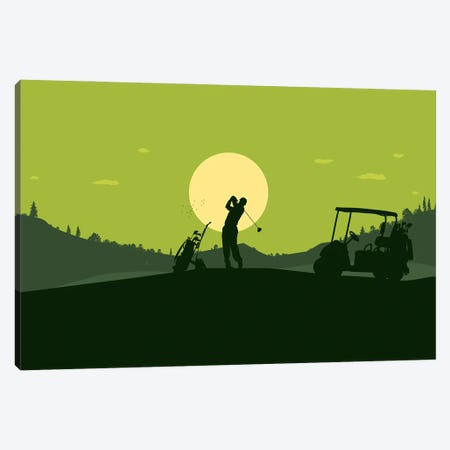hole-in-one Canvas Print #SKW48} by SKYWORLDPROJECT Canvas Print