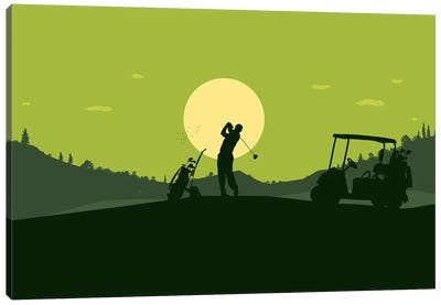 hole-in-one Canvas Art Print