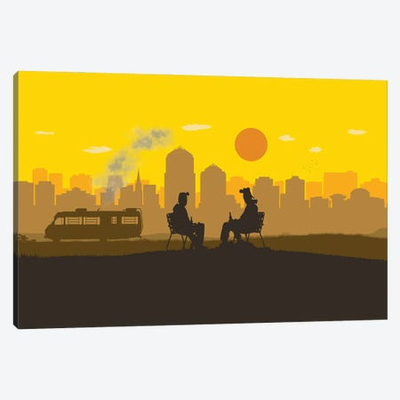 Breaking Boys Canvas Print #SKW4} by SKYWORLDPROJECT Canvas Art