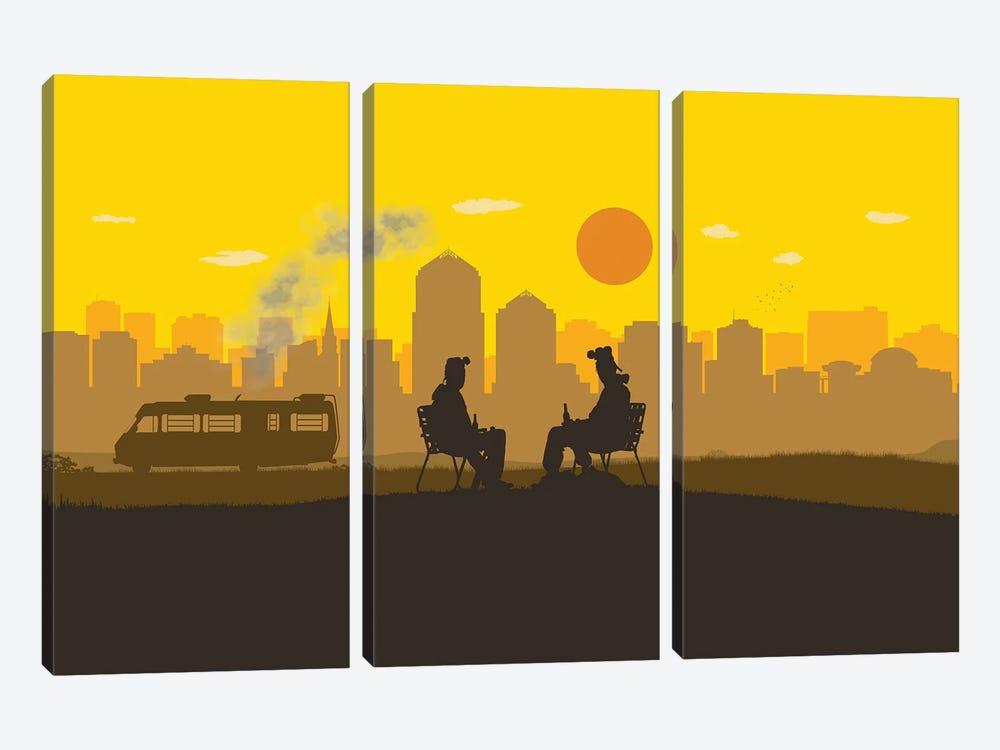 Breaking Boys by SKYWORLDPROJECT 3-piece Art Print