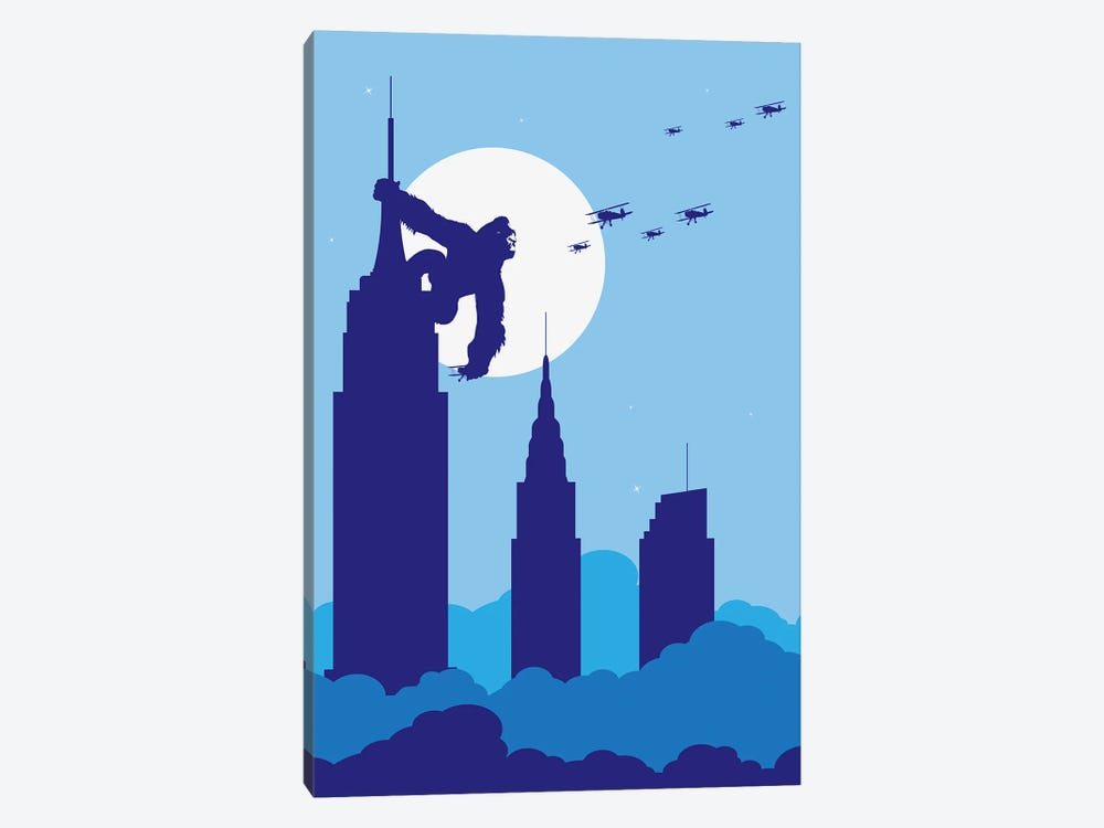 Empire State King by SKYWORLDPROJECT 1-piece Canvas Art