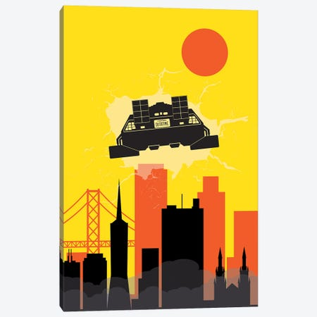 Back to San Francisco Canvas Print #SKW53} by SKYWORLDPROJECT Canvas Artwork