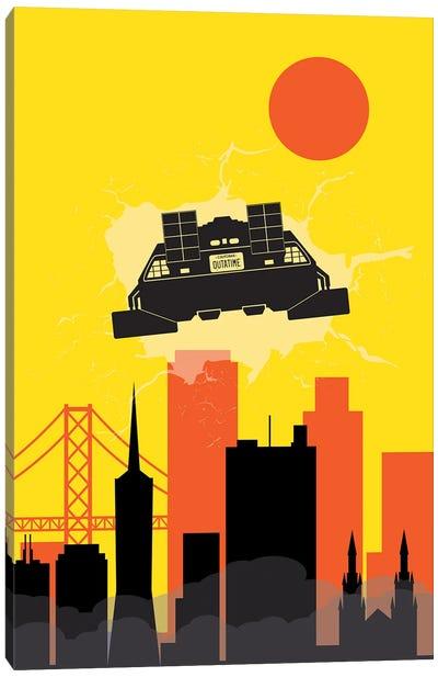 Back to San Francisco Canvas Art Print