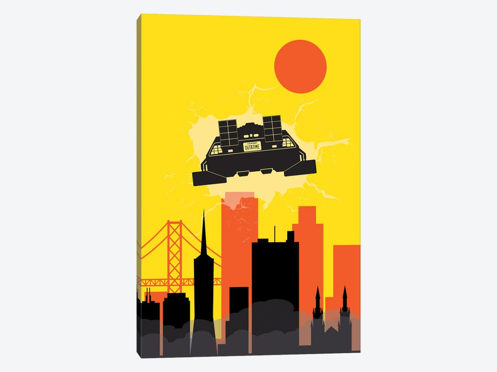 Back to San Francisco by SKYWORLDPROJECT 1-piece Canvas Print
