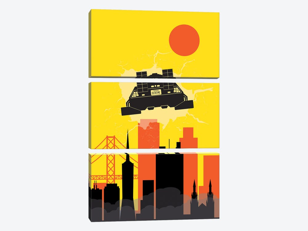 Back to San Francisco by SKYWORLDPROJECT 3-piece Canvas Print