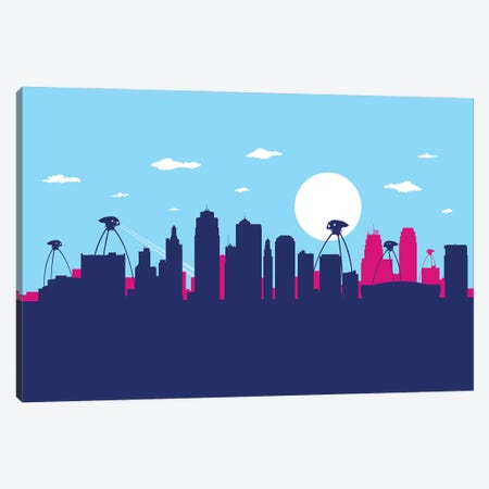Indianapolis war Canvas Print #SKW55} by SKYWORLDPROJECT Canvas Print