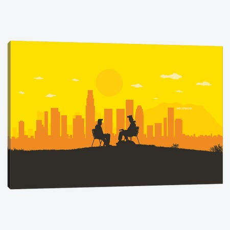 L.A. Chemistry Canvas Print #SKW58} by SKYWORLDPROJECT Canvas Artwork