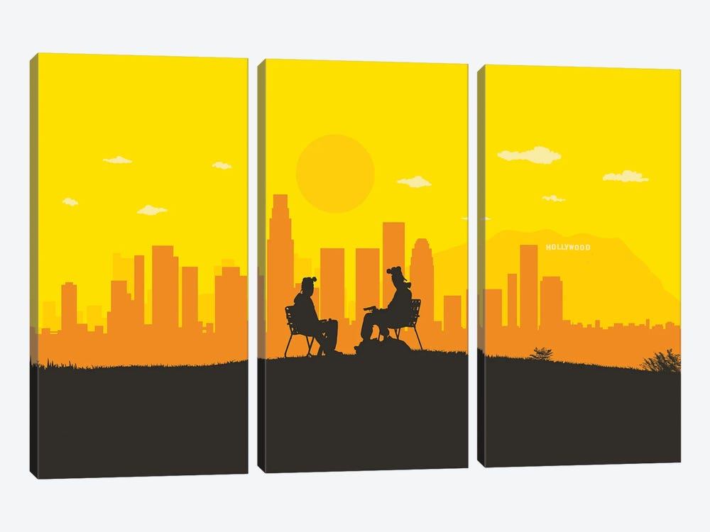 L.A. Chemistry by SKYWORLDPROJECT 3-piece Canvas Artwork