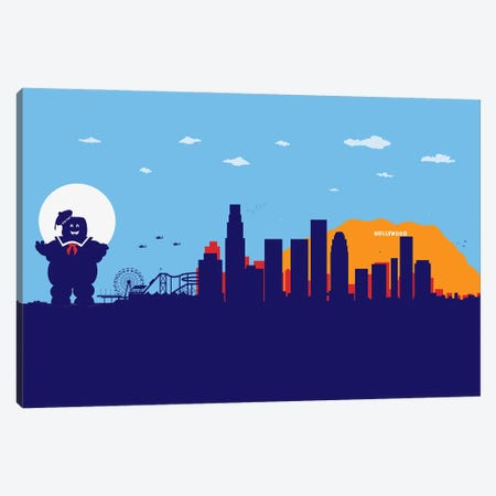 L.A. Sweet Ghost Canvas Print #SKW59} by SKYWORLDPROJECT Canvas Artwork