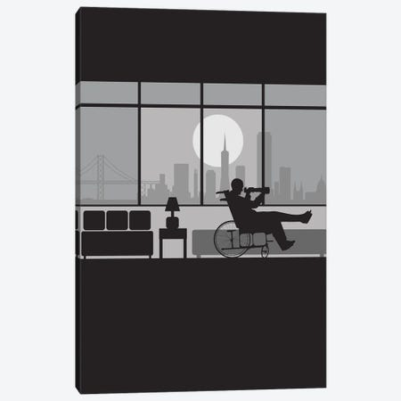 Rear view San Francisco Canvas Print #SKW60} by SKYWORLDPROJECT Canvas Print