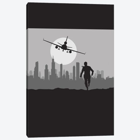 North by Chicago Canvas Print #SKW61} by SKYWORLDPROJECT Canvas Art Print