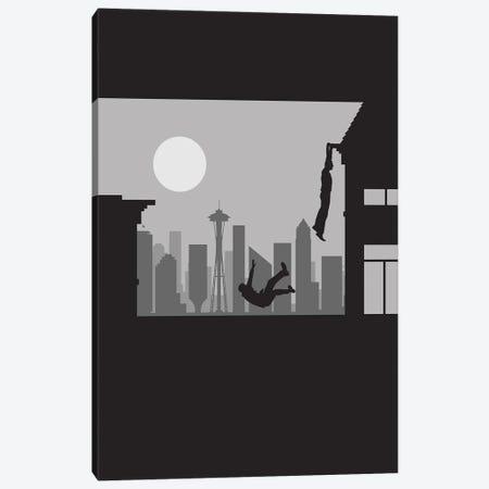 Seattle Vertigo Canvas Print #SKW62} by SKYWORLDPROJECT Art Print