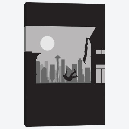 Seattle Vertigo Canvas Print #SKW62} by SKYWORLDPROJECT Art Print