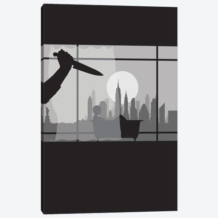 New York Psycho Canvas Print #SKW63} by SKYWORLDPROJECT Art Print