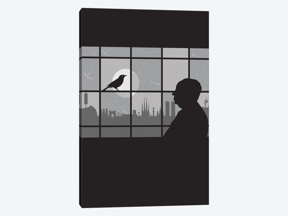 Barcelona Bird by SKYWORLDPROJECT 1-piece Canvas Art Print
