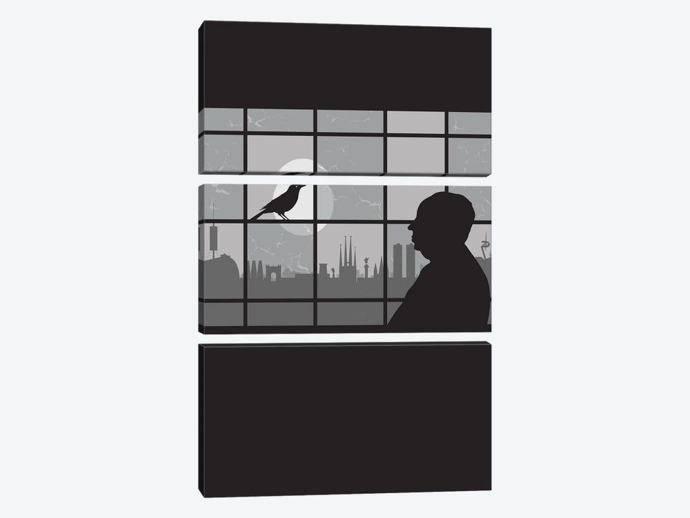 Barcelona Bird by SKYWORLDPROJECT 3-piece Art Print