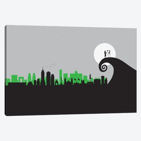 A Mexican Nightmare Canvas Print #SKW66} by SKYWORLDPROJECT Canvas Art