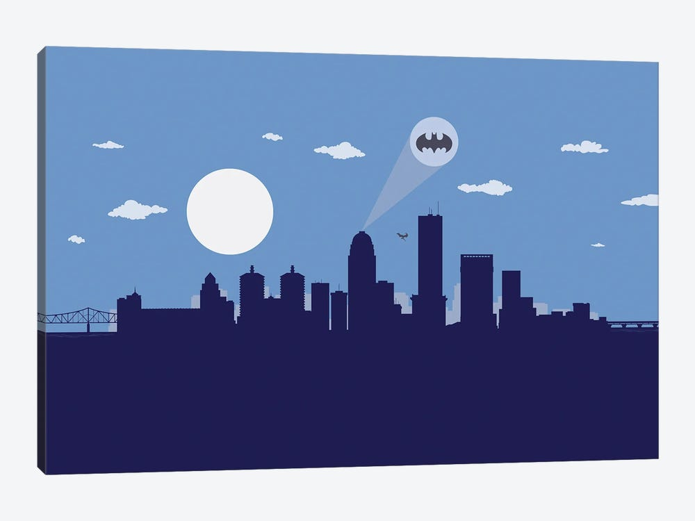 Louisville Justice by SKYWORLDPROJECT 1-piece Canvas Wall Art