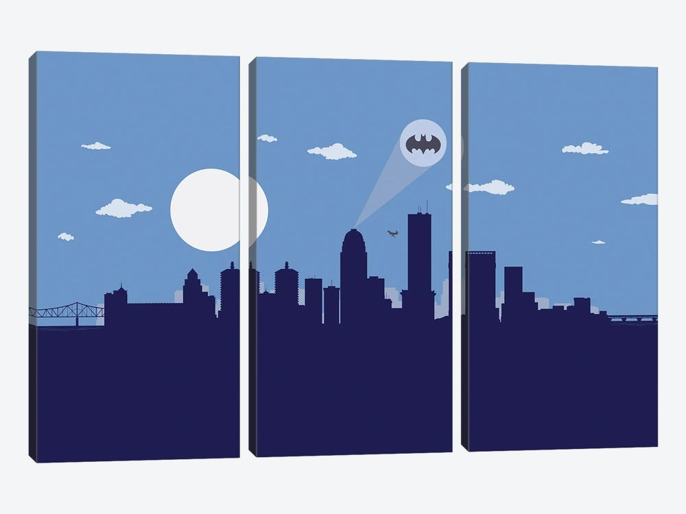 Louisville Justice by SKYWORLDPROJECT 3-piece Canvas Art