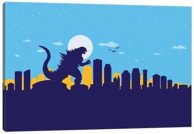 New Orleans Monster Canvas Art Print