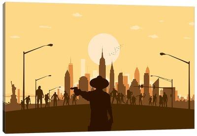 New York Zombies Canvas Art Print