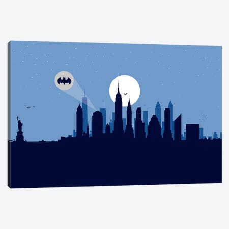 New York Justice Canvas Print #SKW77} by SKYWORLDPROJECT Canvas Print