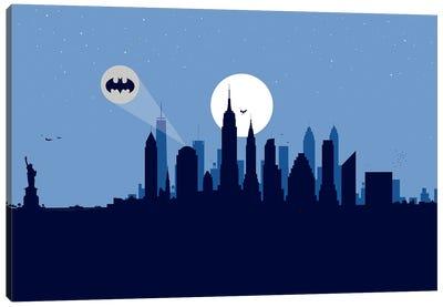 New York Justice Canvas Art Print
