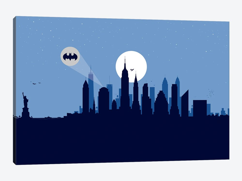 New York Justice by SKYWORLDPROJECT 1-piece Canvas Art Print
