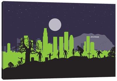 L.A. Zombies Canvas Art Print
