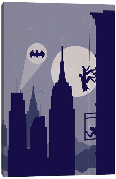 New York climbing Canvas Art Print