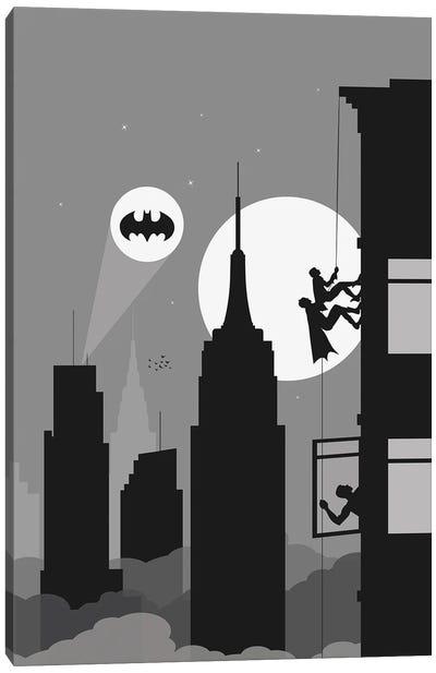 New York climbing II Canvas Art Print