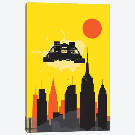 Back to New York Canvas Print #SKW85} by SKYWORLDPROJECT Canvas Artwork