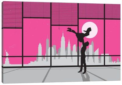 New York Dancing Canvas Art Print