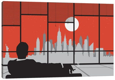 Mad New York Canvas Art Print