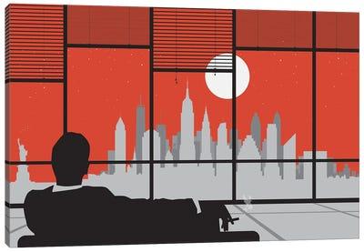 Mad New York Canvas Art Print